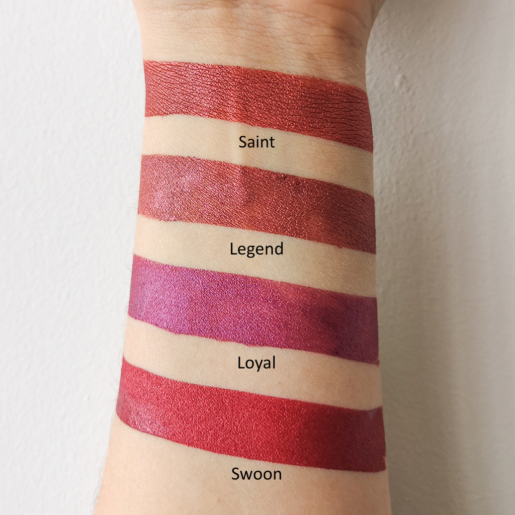 Velvet Liquid Lipstick - Swoon - LARITZY Vegan and Cruelty Free Cosmetics