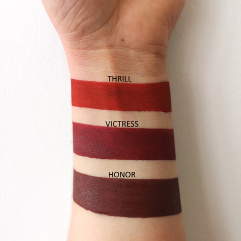 Long Lasting Liquid Lipstick - Victress - LARITZY Vegan and Cruelty Free Cosmetics