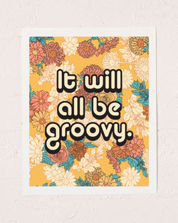 All Groovy Art Print