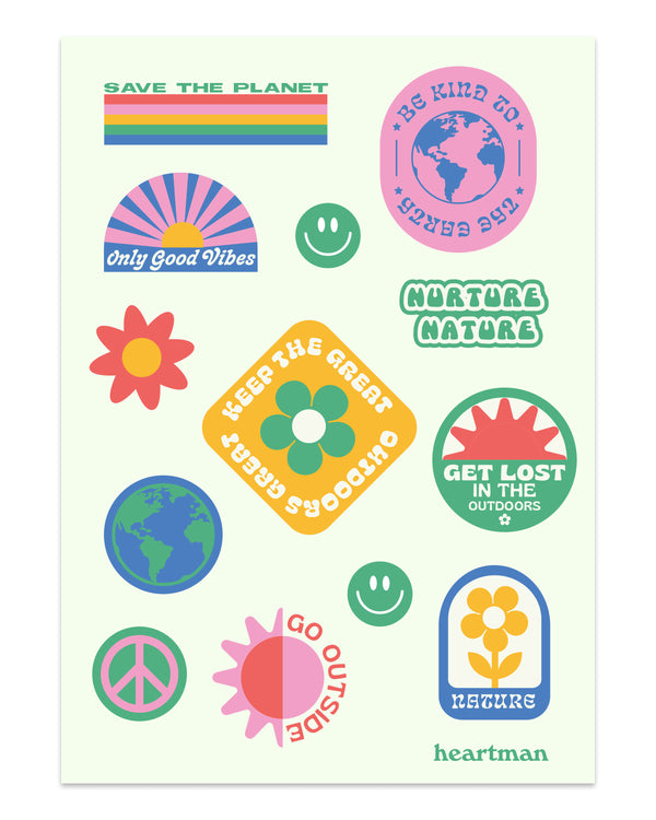 Great Outdoors Sticker Sheet