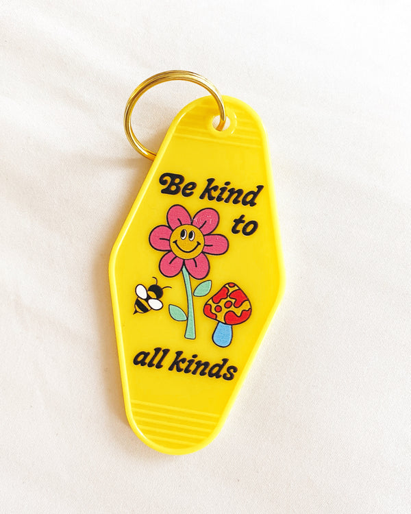 Kind to All Kinds Key Tag
