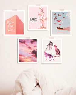 Pretty in Pink Print 5 Pack