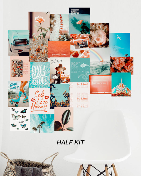 Seaside Sunset Print Kit