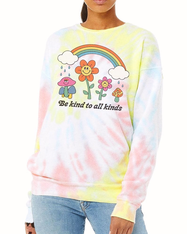 Kind to All Kinds Weekender Crewneck