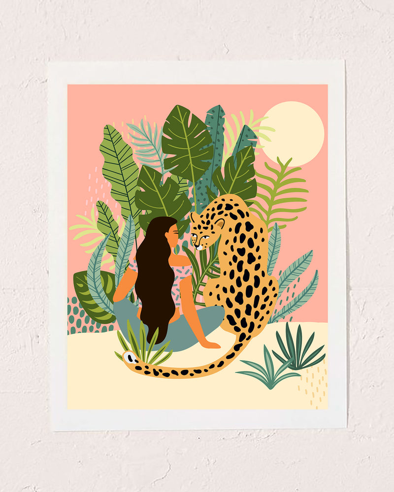 Jungle Love Art Print