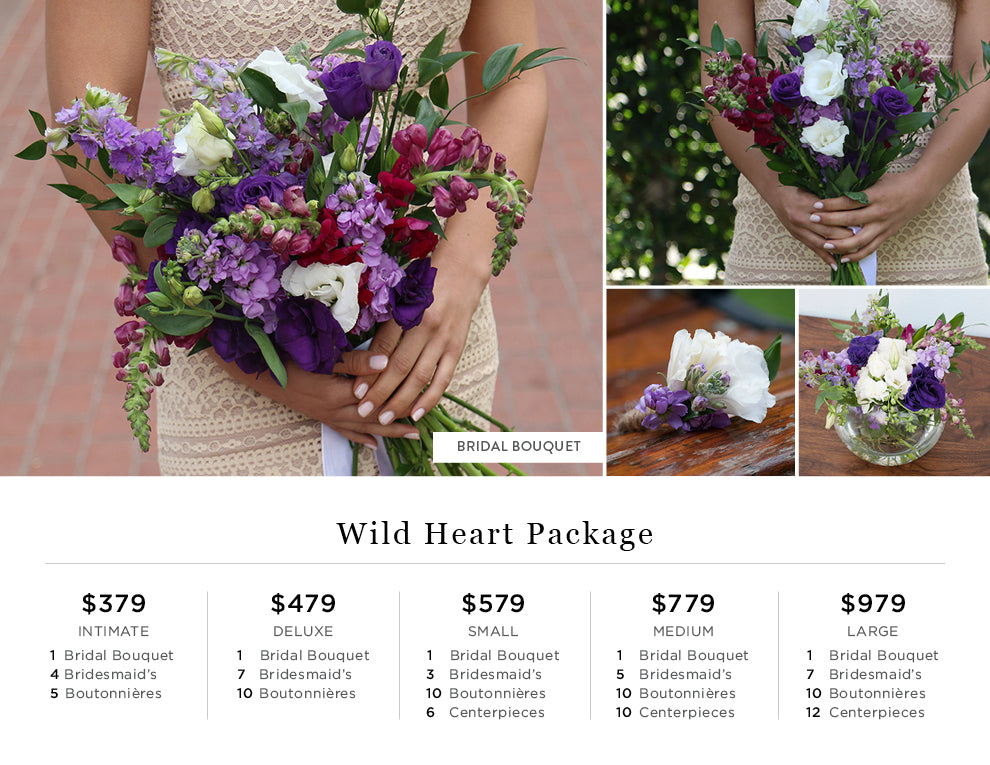 Wild Heart Pricing