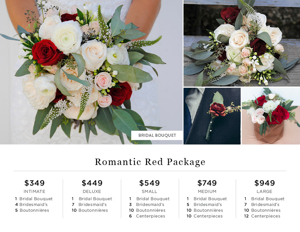 Romantic Red Pricing