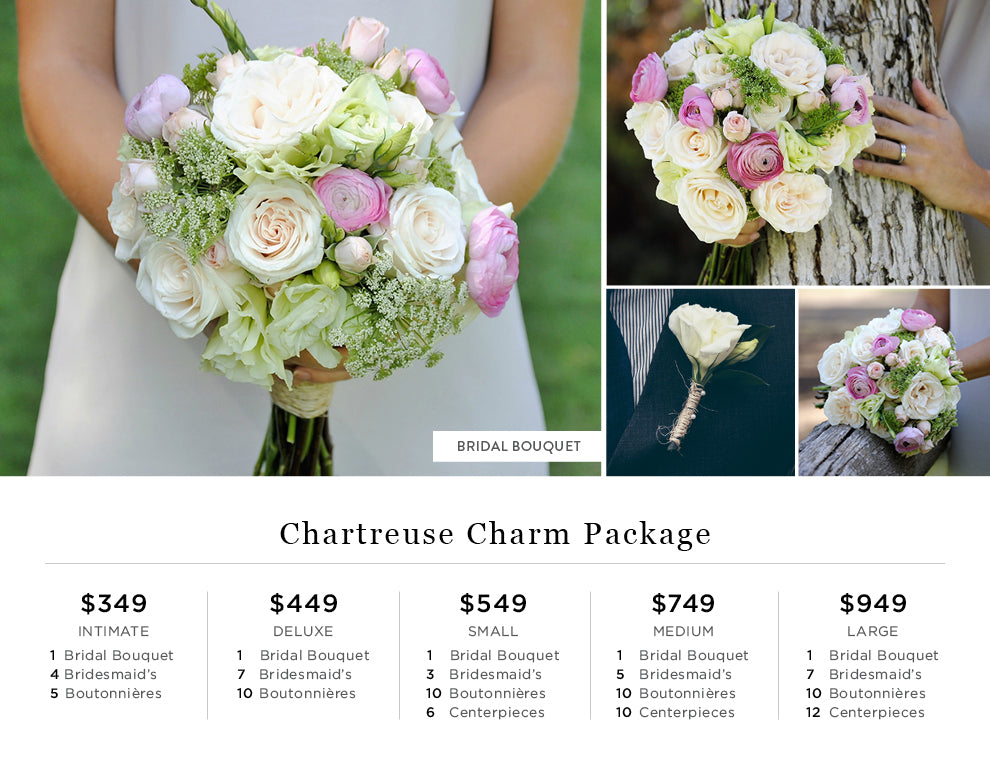 Chartreuse Charm Pricing
