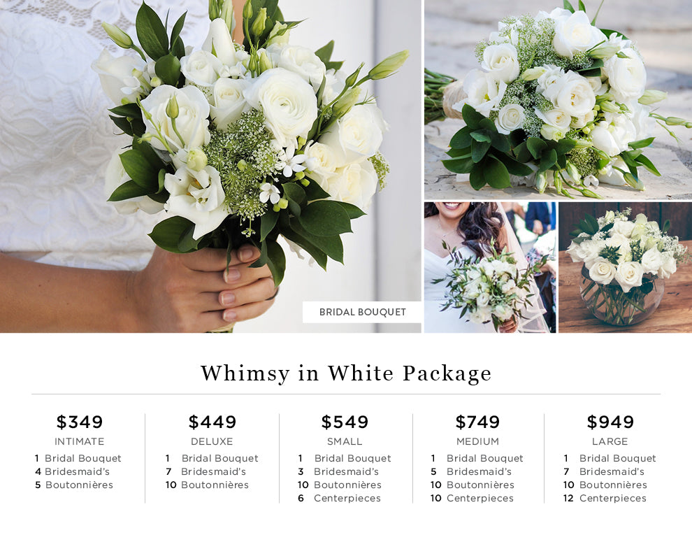 Whimsy in White Pricing