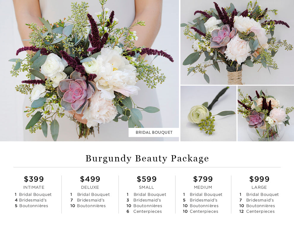 Burgundy Beauty Pricing