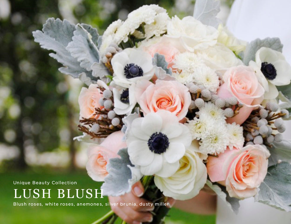 Diy wedding flowers catalog bridal bouquets seasonal year lush blush wedding flowers mightylinksfo