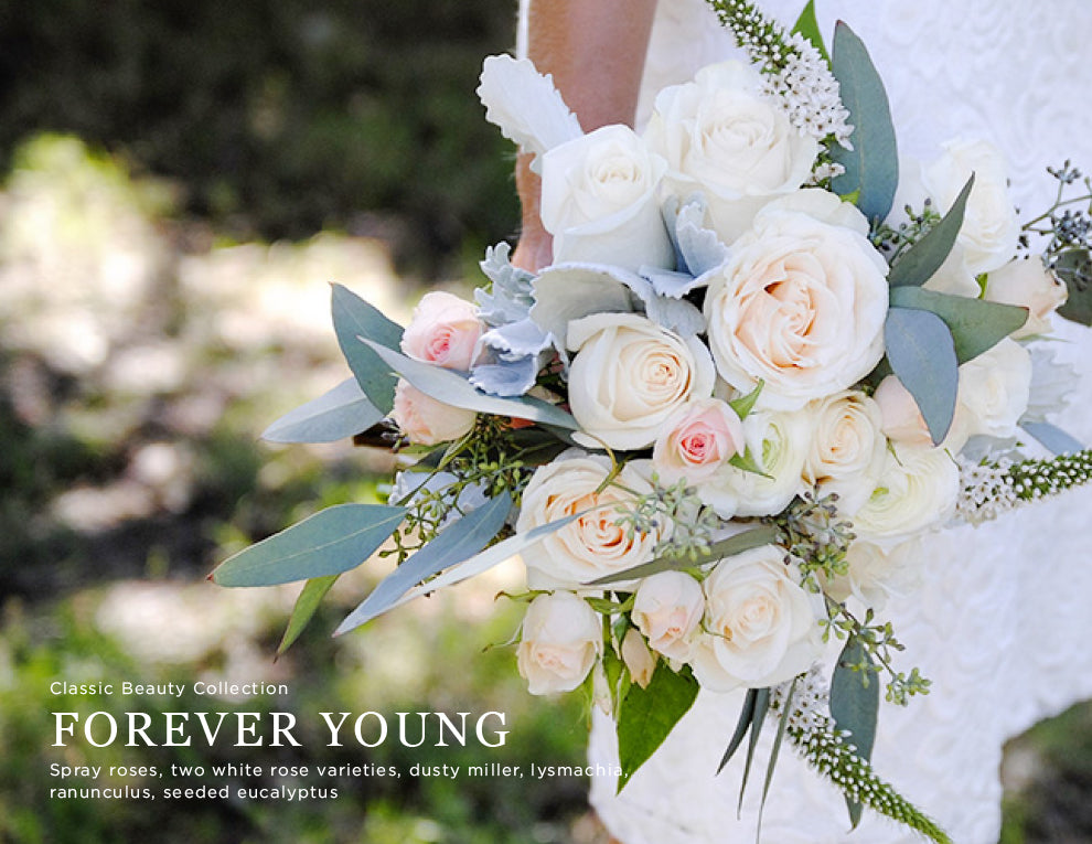 Forever Young DIY Wedding Flowers