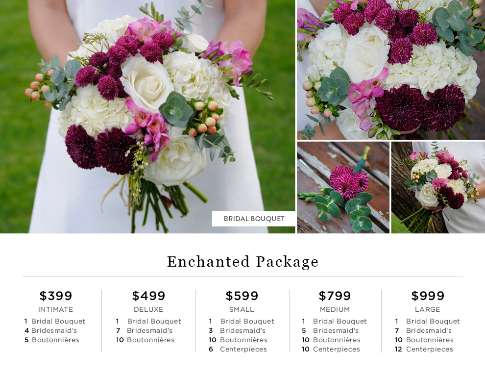 Enchanted Flower Pricing
