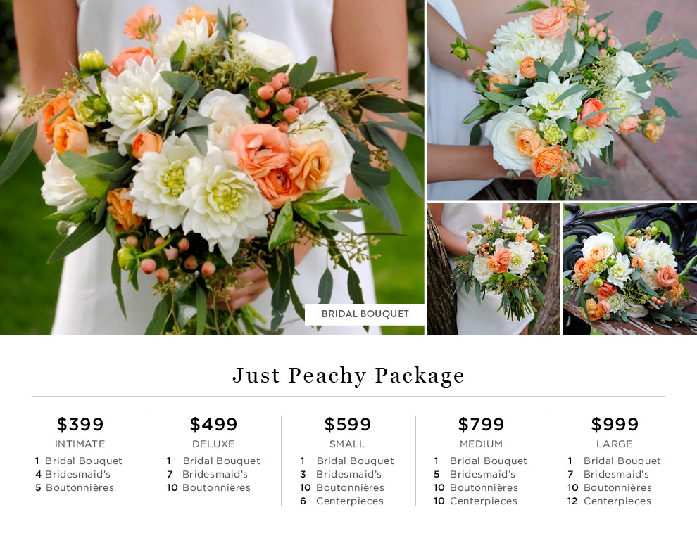 Just Peachy Pricing