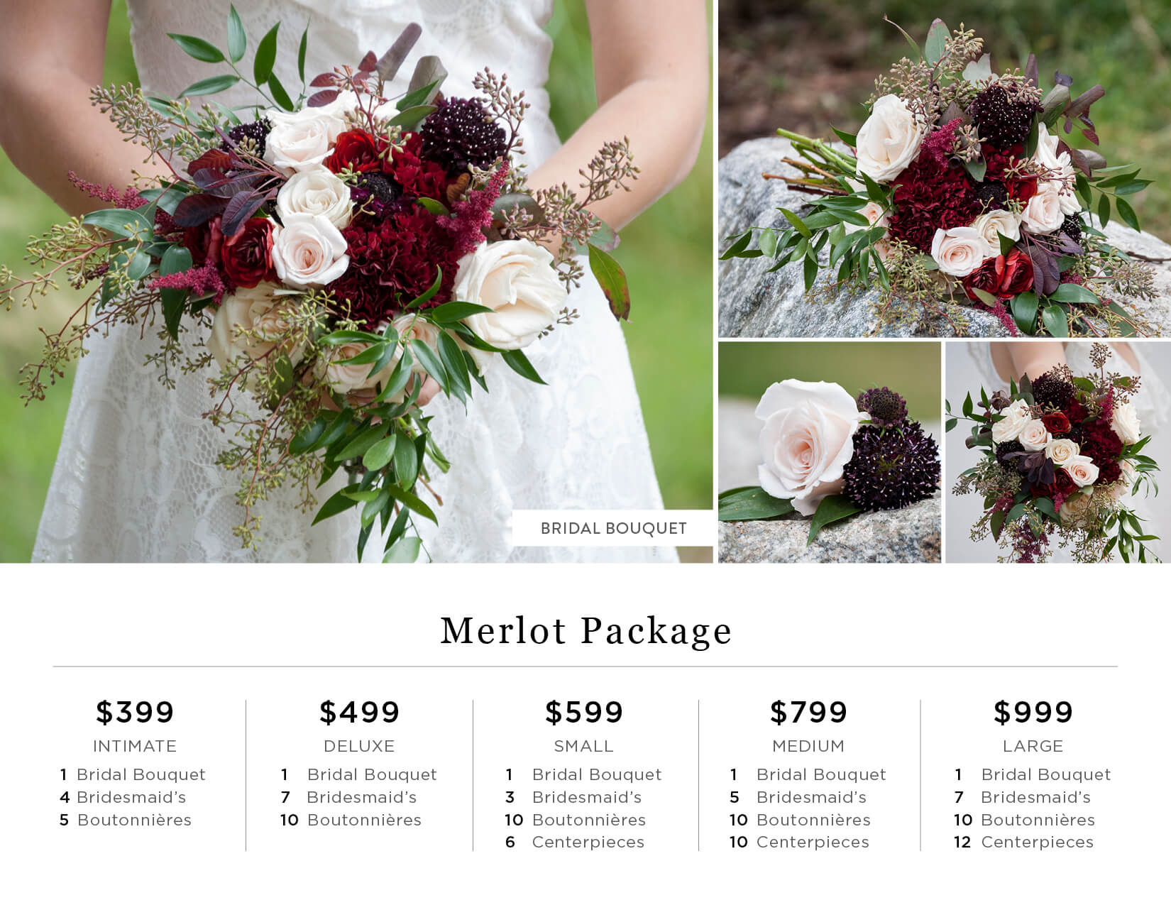 Diy wedding flowers catalog bridal bouquets seasonal year the diy wedding flowers catalog autumn bliss autumnblissproduct merlotpackage merlot flowers izmirmasajfo