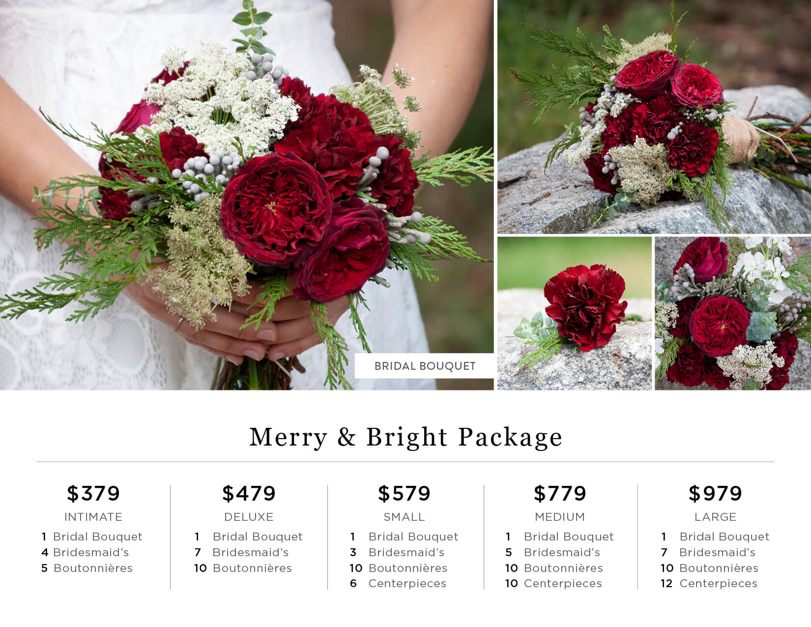 Merry and Bright DIY Wedding Flowers