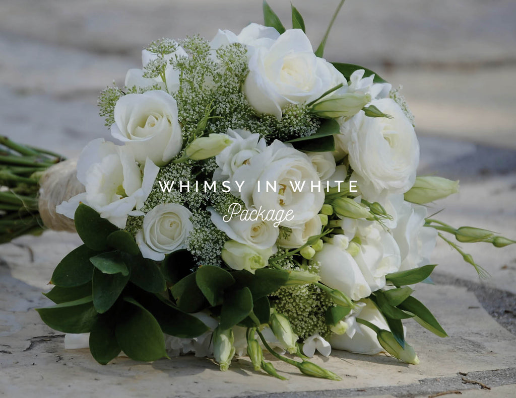 Whimsy in White Package