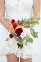 Autumn Bliss DIY wedding flowers bridal bouquet