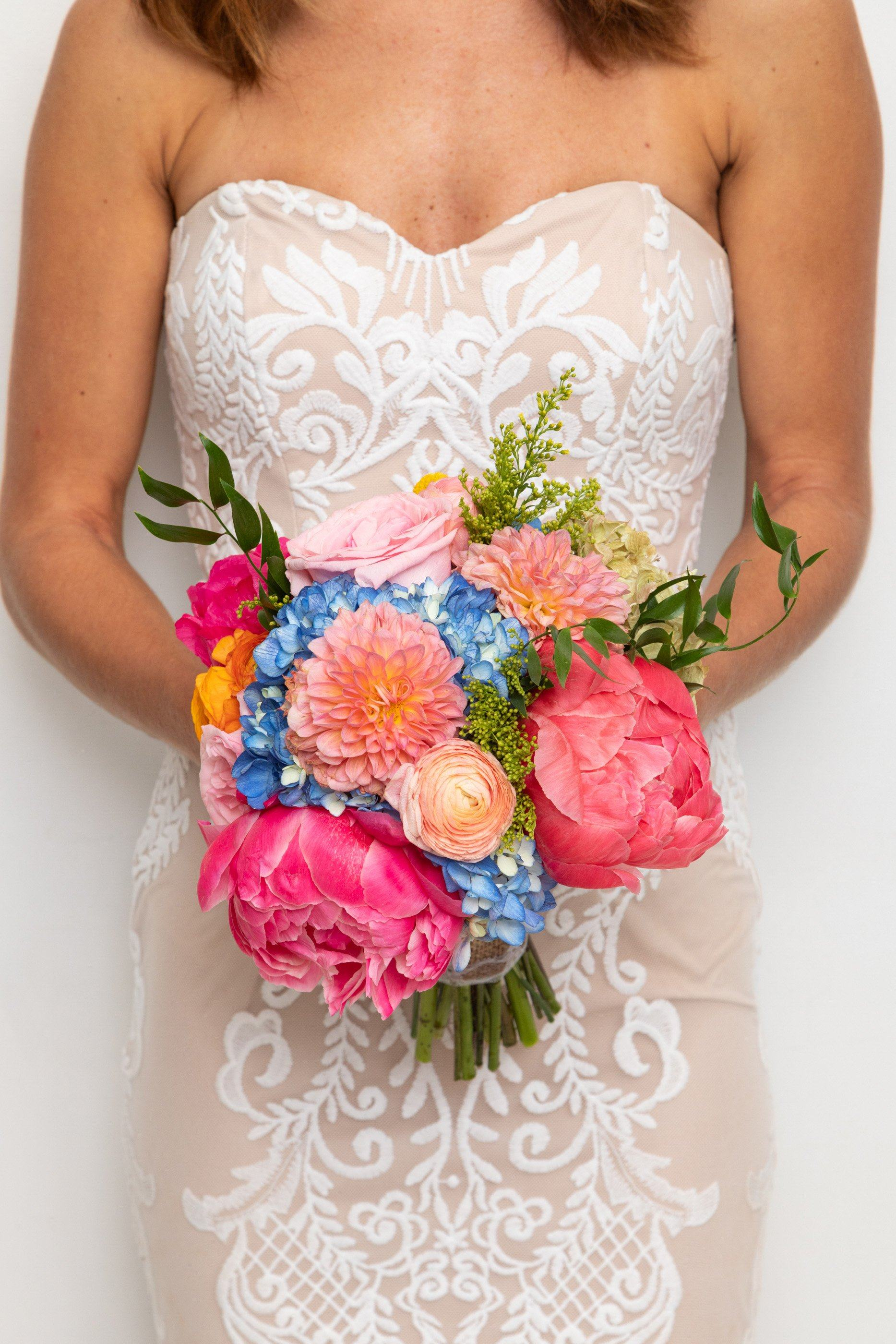Fiesta Bridal Bouquet