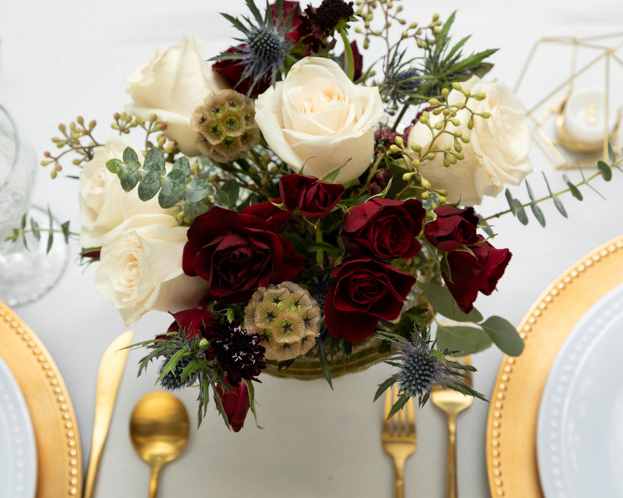 Ruby Centerpiece