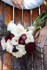 Dark Romance DIY wedding flowers