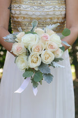 Sweetheart DIY wedding flowers bridal bouquet