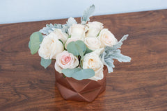 Sweetheart DIY wedding flowers centerpiece