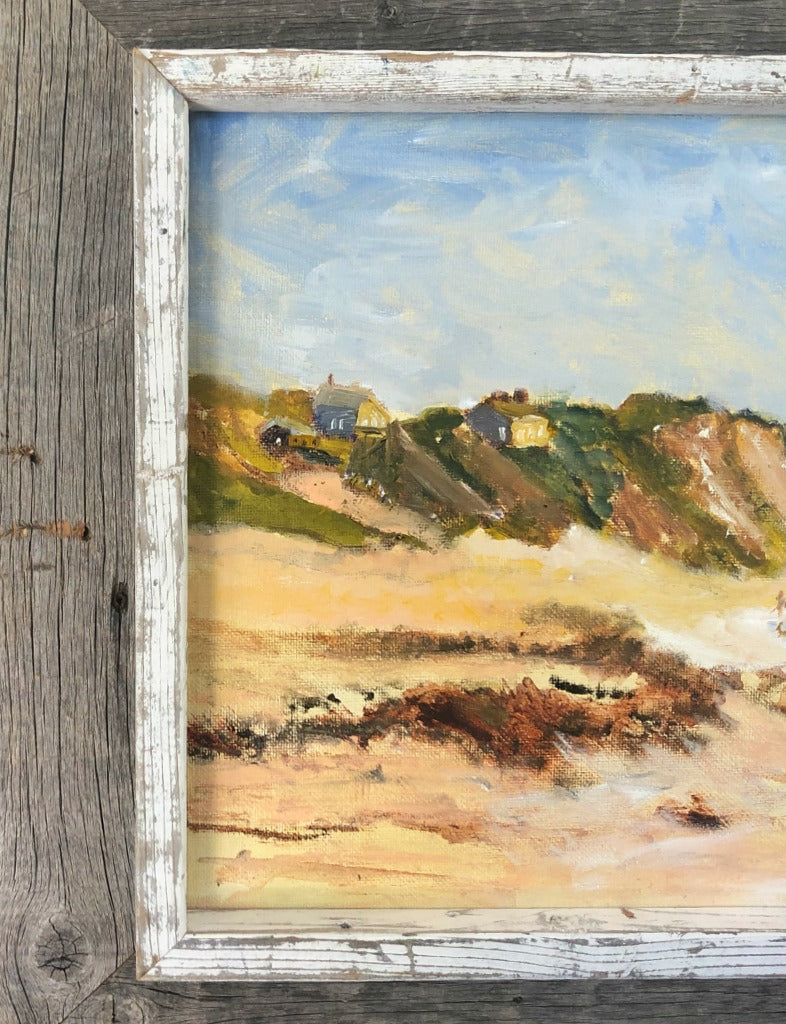 Dune Dwelling Oil Painting
