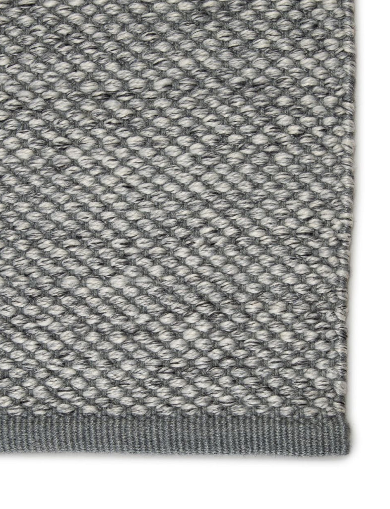 heathered grey indoor outdoor rug