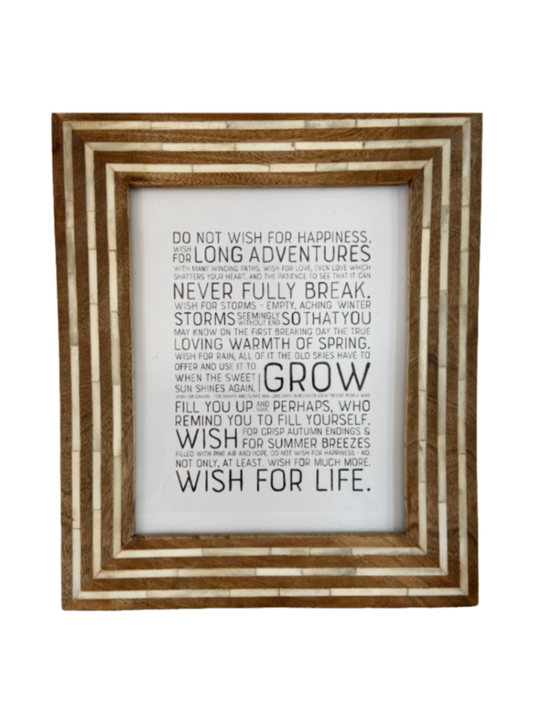 Wish For Life Print