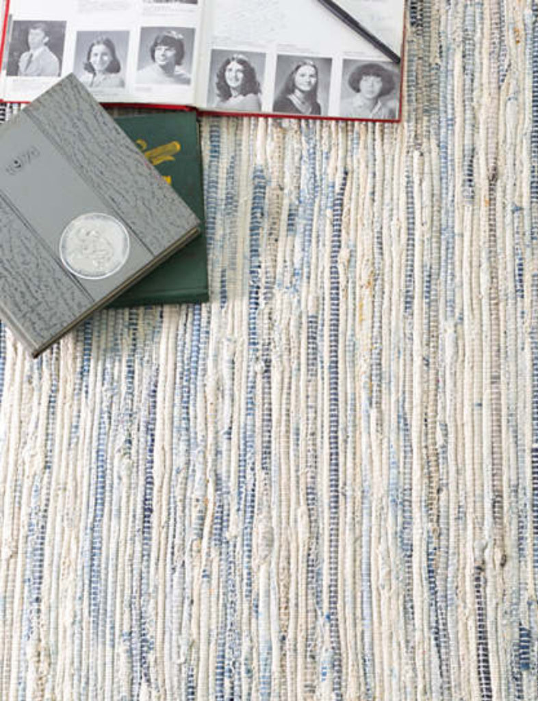 Denim Rag Cotton Rug