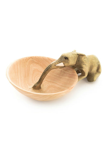 Drinking Elephant Bowl