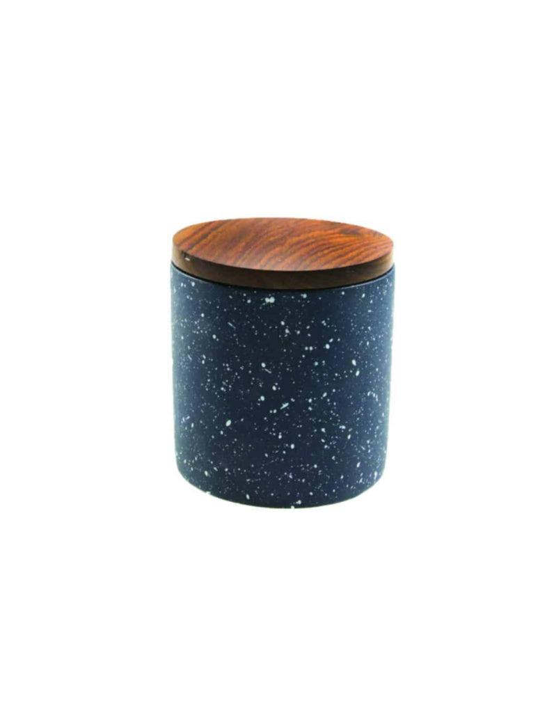 Dark Speckled Canister