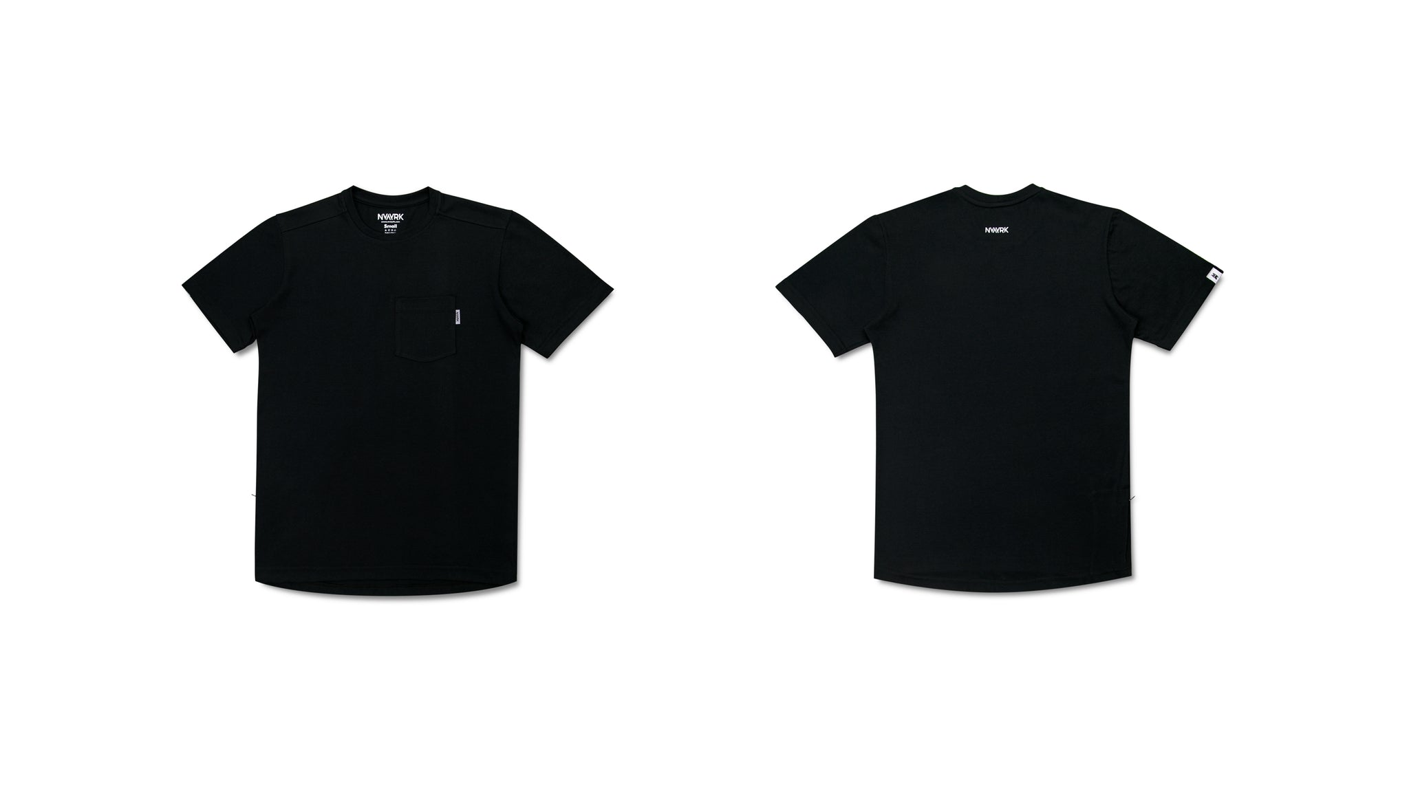 2-Pocket Short Sleeve T-shirt | BLACK