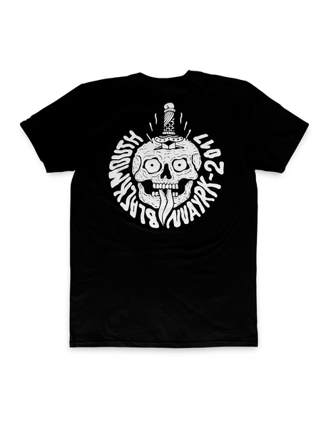 NVAYRK X BLACKMOUTH CO. Skull & Dagger T-Shirt