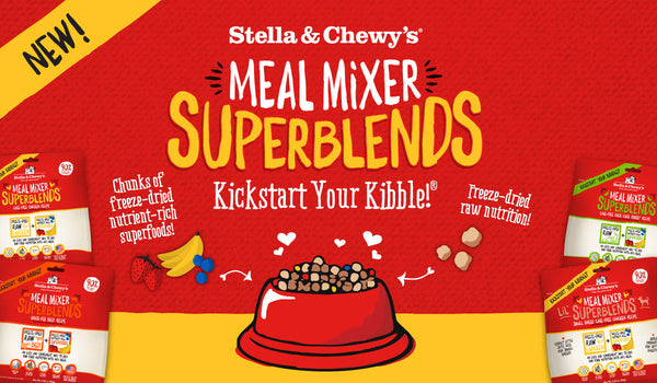 Freeze Dried Meal Mixer Super Blends