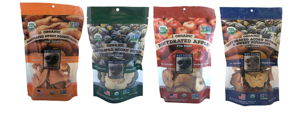 Organic Dehydrated Fruit Chews For Dogs