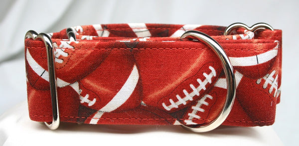 Football Heaven on Dark Terra Cotta Collar