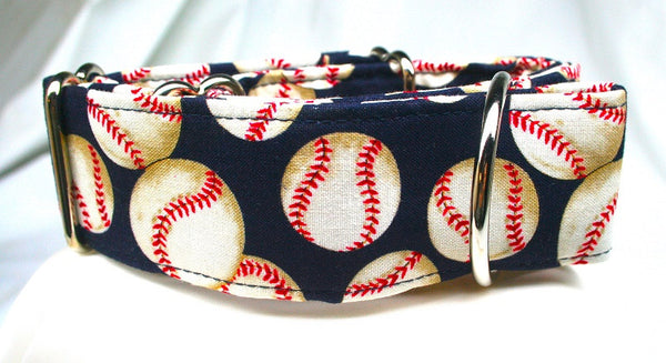 Baseball Heaven on Navy Collar