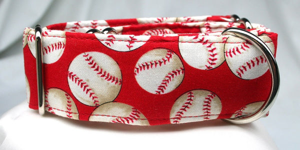 Baseball Heaven on Crimson Collar