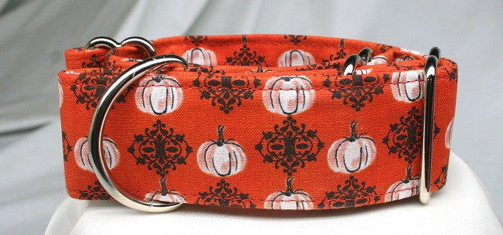 Rustic Pumpkin & Wrought Iron Collar