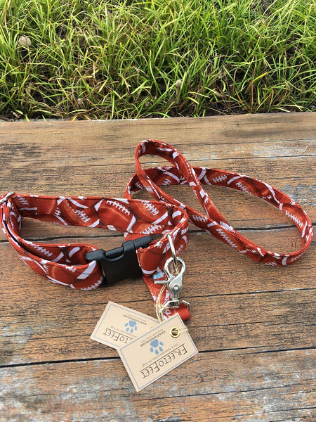 Football Heaven Collar & Leash Set