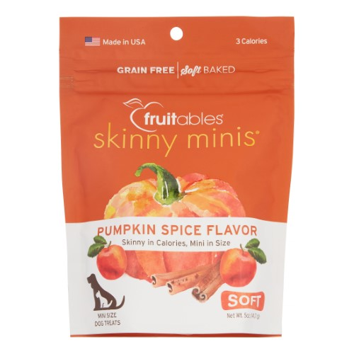 Fruitables Skinny Mini Pumpkin Spice Treats
