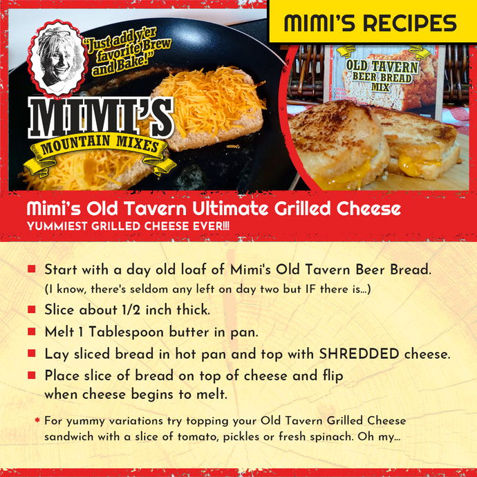 Mimi's Old Tavern Ultimate Grilled Cheese