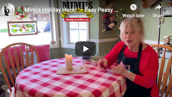 🎄Mimi's Holiday Hack! ✨Easy Peasy Centerpiecey🎍