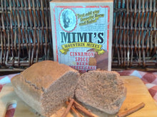 Mimi's Cinnamon Spice Beer Coffee Cake Mix is full of high quality cinnamon, unbleached flour, and no aluminum baking powder.  Vegan and absolutely delicious for breakfast or dessert.