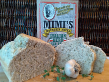 Can you say, savory, aromatic and delicious?  That's Mimi's Italian Herb Beer Bread!  Hearty and full of high quality garlic, oregano, onion and herbs that will make an impressive loaf of bread  and make any meal a special one.