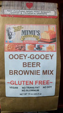 GLUTEN FREE OOEY-GOOEY BEER BROWNIES