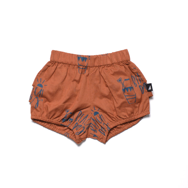 Beach Days Woven Bloomers in Rust