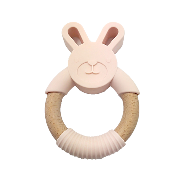 Clay Bunny Teether